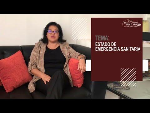 ESTADO DE EMERGENCIA SANITARIA - Luces Cámara Derecho 165