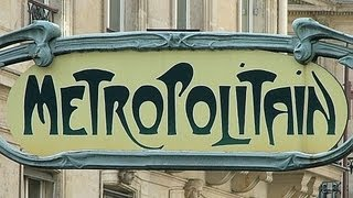 Hector Guimard, Cité entrance, Paris Métropolitain