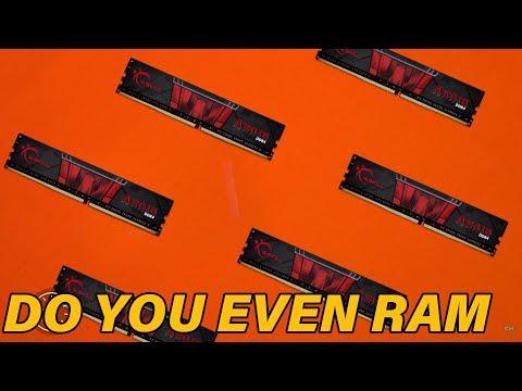 Gskill Aegis DDR4 Ram 60 Second Break Down