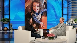 Ellen Meets Mom Dedicated to Giving Back to Community