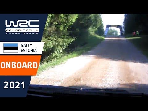 トヨタのロバンペラのオンボード映像 WRC 2021 第7戦ラリー・エストニア