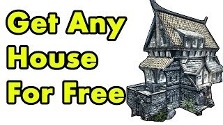 Skyrim Remastered GET ANY HOUSE FREE! (Special Edition Guide: Whiterun, Solitude, & Land Locations)