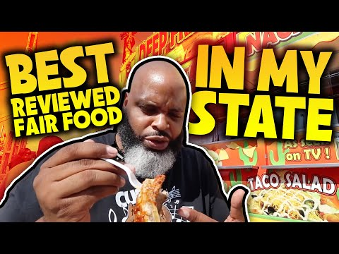 Eating At The BEST Reviewed FOOD FAIR In My State | SEASON 2