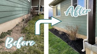 DIY Yard Makeover In 24 Hours - Front Yard BEFORE And AFTER
