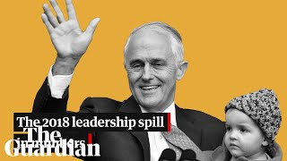 The 2018 leadership spill in numbers