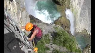 preview picture of video 'Via Ferrata Sorrosal - Broto P N Ordesa.mp4'