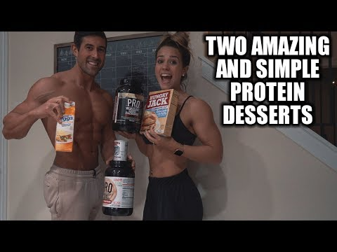 Two Quick Protein Dessert Recipes – Low Carb and Low Fat Dessert
