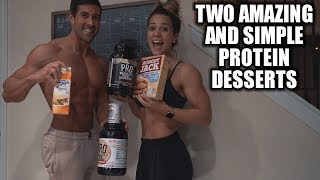 Two Quick Protein Dessert Recipes - Low Carb and Low Fat Dessert