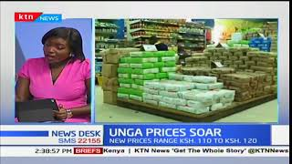 News Desk - 9th January 2018: Discussion on Unga Price Soar