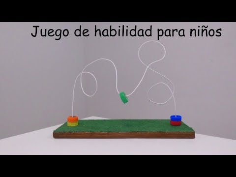 Como hacer un juego de habilidad para niños