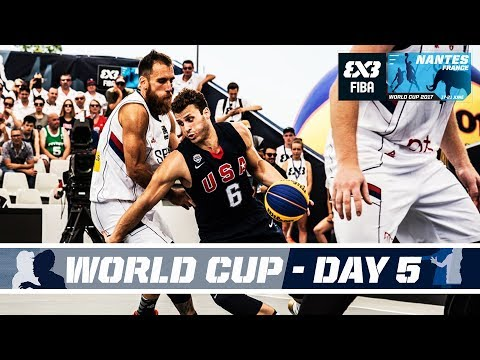 FIBA 3X3 World Cup 2017 - Nantes, France - LIVE - Quarter & Semi-Finals