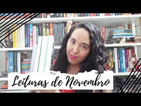 Leituras de Novembro (2018) | Um Livro e Só