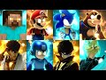 Super Smash Bros Ultimate All Final Smashes minecraft S