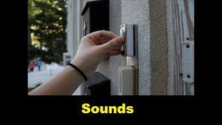 Doorbell Sound Effects All Sounds