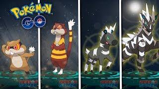 Zebstrika  - (Pokémon) - ¡NUEVO REGISTRO! EVOLUCIÓN de ZEBSTRIKA y WATCHOG en Pokémon GO! [Keibron]