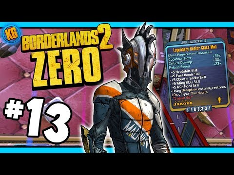 Lucky Infinity Drop!  - Road to Ultimate Zer0 | Day #13 [Borderlands 2]
