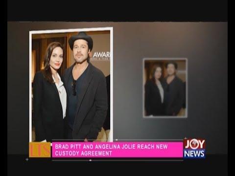 Brad Pitt and Angelina Jolie reach new custody agreement - Let's Talk Entertainment (13-6-18)