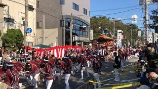 平成最後の八田荘だんじり祭 10/21 大池パレード Danjiri Festival In OSAKA SAKAI City
