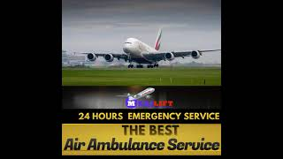 Air Ambulance Service in Ranchi with Modern Tools through Medilift