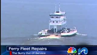 preview picture of video 'Surry Ferry  removed'