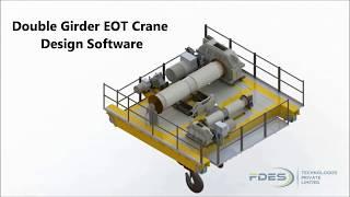 Solidworks - Double Girder EOT Crane Design Automation