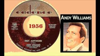 Andy Williams - Not Anymore (Vinyl)