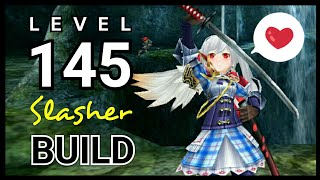 "トーラム | Toram Online - (BUILD) Katana ""Slasher"" Level CAP 145 ! Zantei ver"