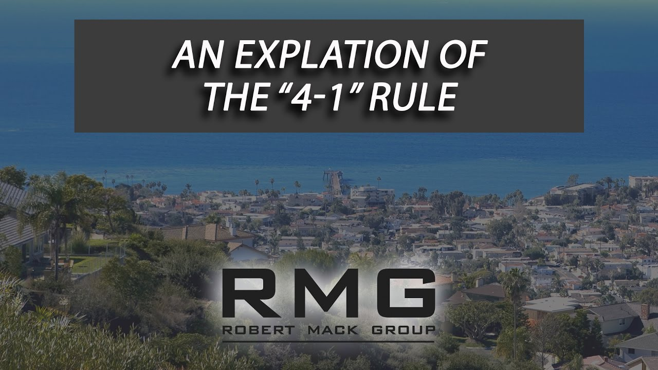 "An Explanation of the ""4-1 Rule"""