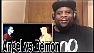 Angel vs Demon - (Deep Rap) (Official Video) Reaction