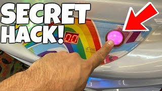 SECRET CLAW MACHINE HACK???