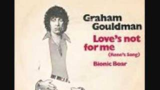 Love's not for me - Graham Gouldman