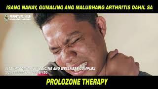 Isang Nanay, Gumaling Ang Malubhang Artist Dahil Sa Prolozone Therapy