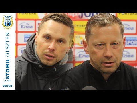 Konferecja prasowa po meczu Radomiak Radom - Stomil Olsztyn 1:0