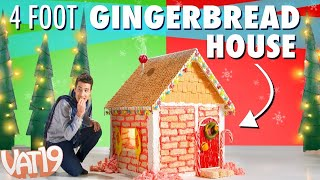 Giant Gingerbread House!