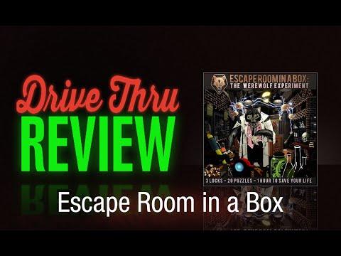 """[DriveThruReview] #466: """"Escape Room In A Box"""""""