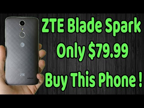 How to ScreenShot on the ZTE Blade Spark - смотреть онлайн