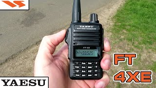 YAESU FT-4XE EVEN GIVES THE FT-60 A RUN FOR ITS MONEY - FT-4XE FIELD TESTING, CLOSER THAN I THOUGHT.