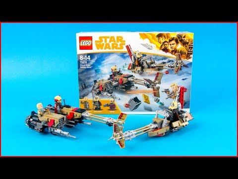 LEGO STAR WARS 75215 Cloud-Rider Swoop Bikes Construction Toy - UNBOXING