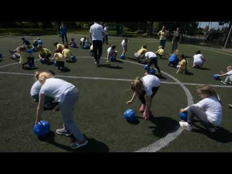 Bozsik-program ovis tanévzáró ünnepsége