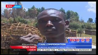 Itare Dam residents push for compensation from the government