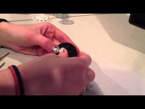 Taking apart a kitchen timer