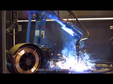 Robot spawalniczy - Welding robot - Schweißroboter - MOTOMAN YR SK6 0010 - zdjęcie