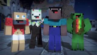 """Minecraft Song and Videos """"Natural"""" By Imagine Dragons"""
