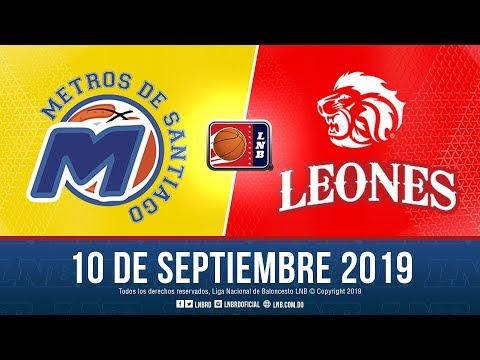 LNB: Metros de Santiago vs Cañeros del Este 10-9-2019