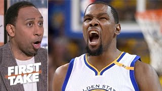 Kevin Durant is the best player in the NBA right now - Stephen A. | First Take