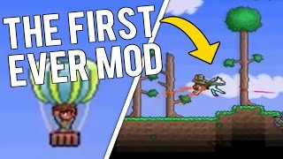 OLDEST TERRARIA MOD! What was Terraria's First Ever Mod?