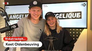 SkateKeet is Talent van het Jaar 2019   Rivkah tackelt Keet Oldenbeuving   NOS Sport