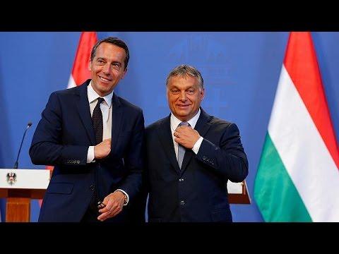 Главы правительств Венгрии и Австрии не сошлись в оценках Дональда Трампа