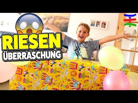 Verspätetes Geburtstags - 😍 Geschenk für Ash 🎁  TipTapTube Family 👨👩👦👦