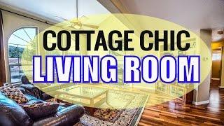 BEST Cottage Chic Living Room Design Ideas